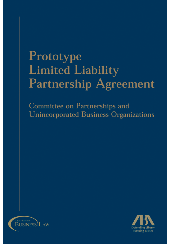 Prototype Limited Liability Partnership Agreement