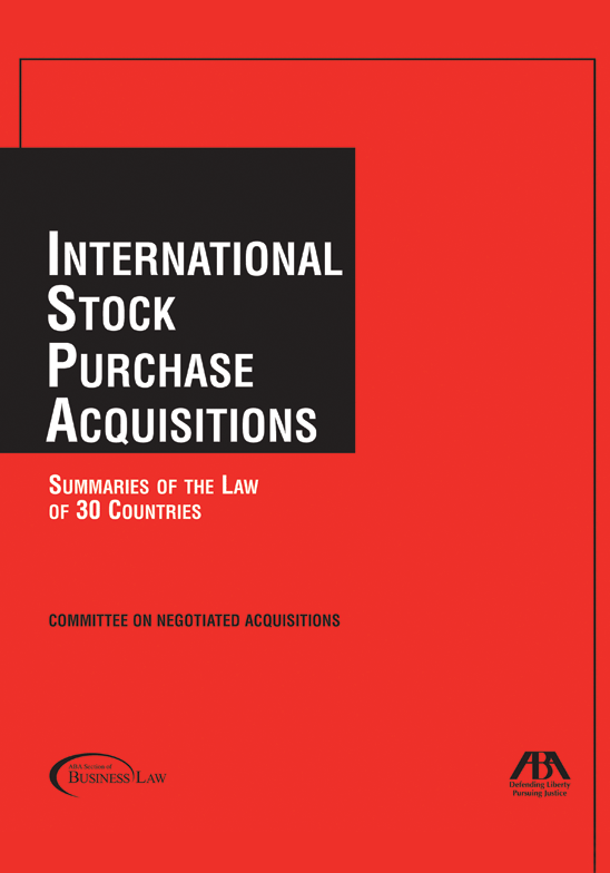 International Stock Purchase Acquisitions Summaries Of The Law Of