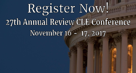 27th Annual Review Conference, November 16-17. Click for registration.