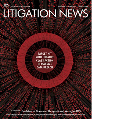 Litigation News Winter 2015