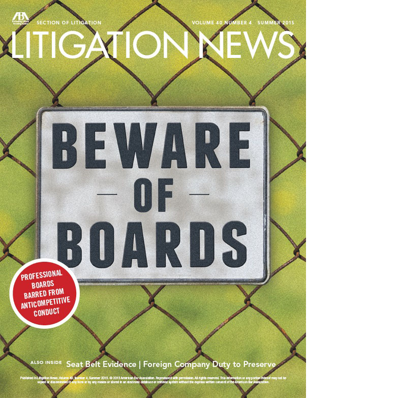 Litigation News Summer 2015