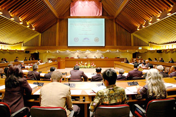 The joint Rule of Law Initiative and Lawyers Council of Thailand anti-corruption conference was held at the U.N. Conference Centre in Bangkok, Thailand on February 19-20, 2007.