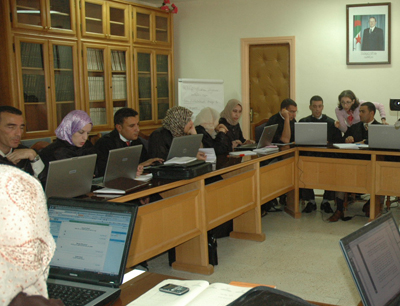 E-learning modules are developed in Algeria to improve and modernize legal education