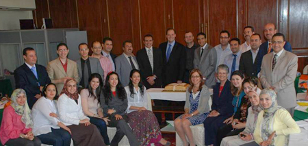ABA ROLI trains young Egyptian law professors on teaching methodologies and on the development of supporting materials that incorporate international best practices.