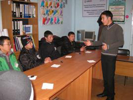 aba roli hosts sustainability workshop for kyrgyz street