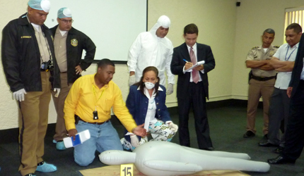 ABA ROLI training in crime scene protection promotes respect for proper procedures and for the rights of victims and suspects alike.
