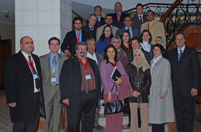 More than 20 legal educators from 10 countries participated in the workshop.