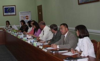 ABA ROLI co-sponsored training at the Moldovan National Institute of Justice on the country's domestic violence law.