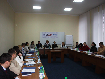 Training at the National Institute of Justice, Moldova