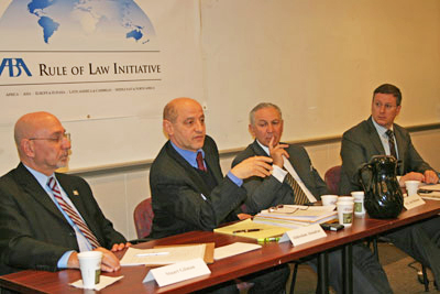 Panelists highlighted the strong will and commitment of the Moroccan government to fight corruption.
