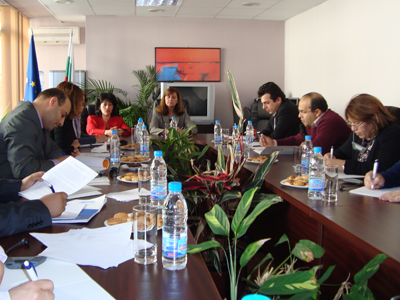 Moroccan and Bulgarian counterparts discuss the challenges in providing legal aid.
