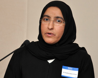 Dr. Shaikha Jabor Al Thani, Qatar University's vice president, said that the mentoring program for female law students will be helpful for the students' professional development.