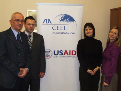 Improved personal data collection is supported by local Serbian officials and staff from ABA ROLI 's office in Serbia, which is officially incorporated as ABA CEELI