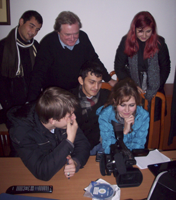 The investigative-reporting workshop covered a range of topics, including journalistic ethics and reporting techniques.